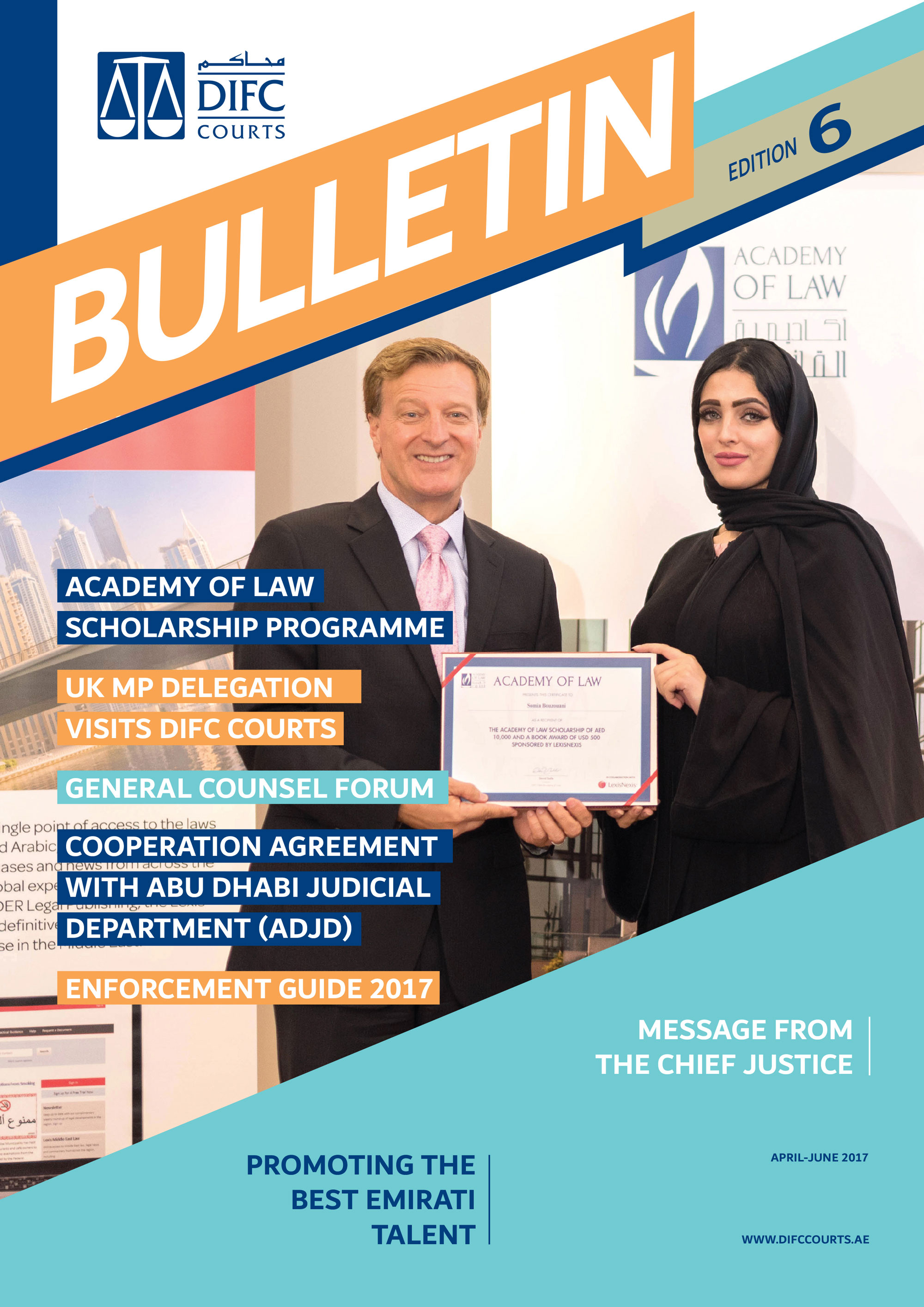 DIFC Courts Bulletin Edition 6